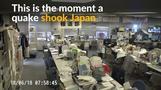 Magnitude 6.1 quake shakes Osaka, Japan