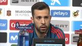 Jordi Alba says Messi doesn't deserve criticism he gets