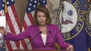 "GOP compromising ""with the devil"": Pelosi"