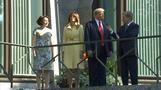 Trump meets with Finnish President