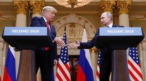 Trump says he holds Putin 'responsible'
