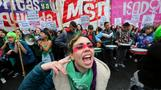 Violence erupts as Argentina rejects abortion