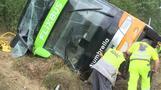 Flixbus Unfall auf A19