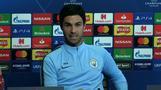 Arteta 'surprised' Manchester City are Champions League favourites