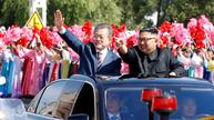 Korean leaders meet for a high-stakes summit