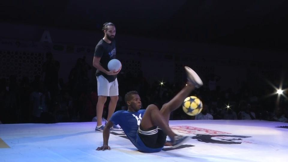 Ivorian wins first African freestyle football champs