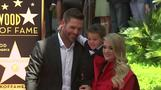 Carrie Underwood gets emotional at Walk of Fame ceremony
