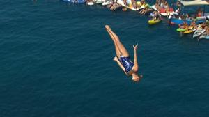 Hunt and Iffland clinch Cliff Diving World Series titles