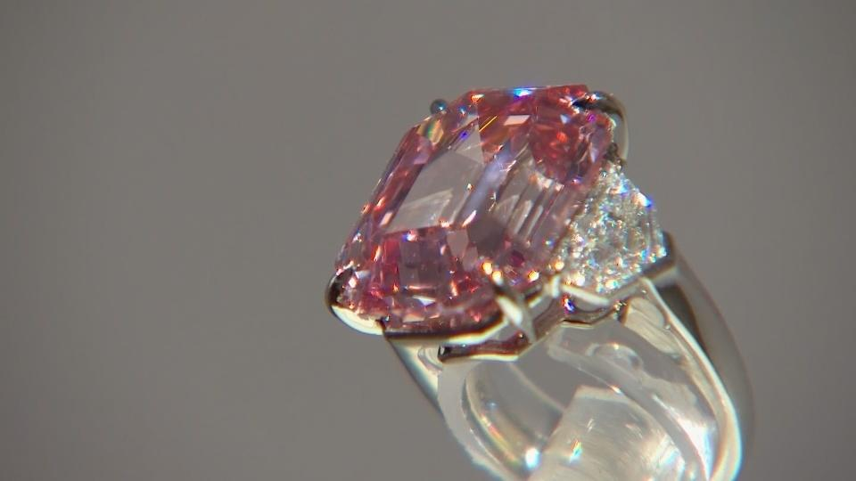 Giant pink diamond from Christie's a cut above the rest
