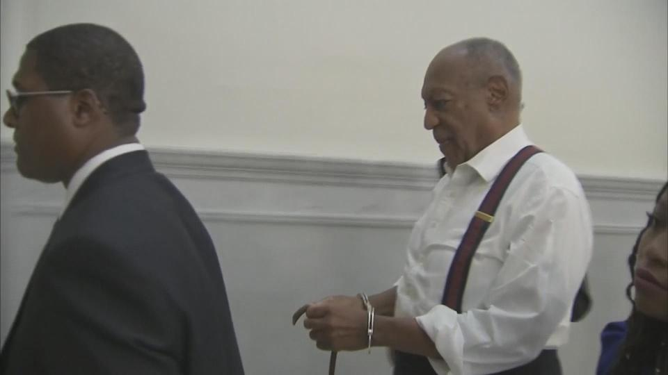 Bill Cosby cuffed and sent to prison