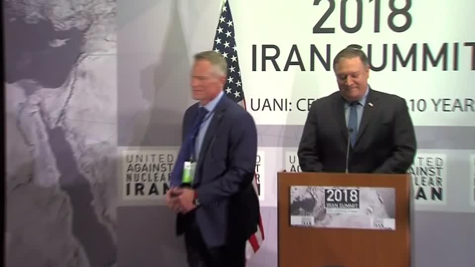 Pompeo 'disturbed' by Iran payment channel