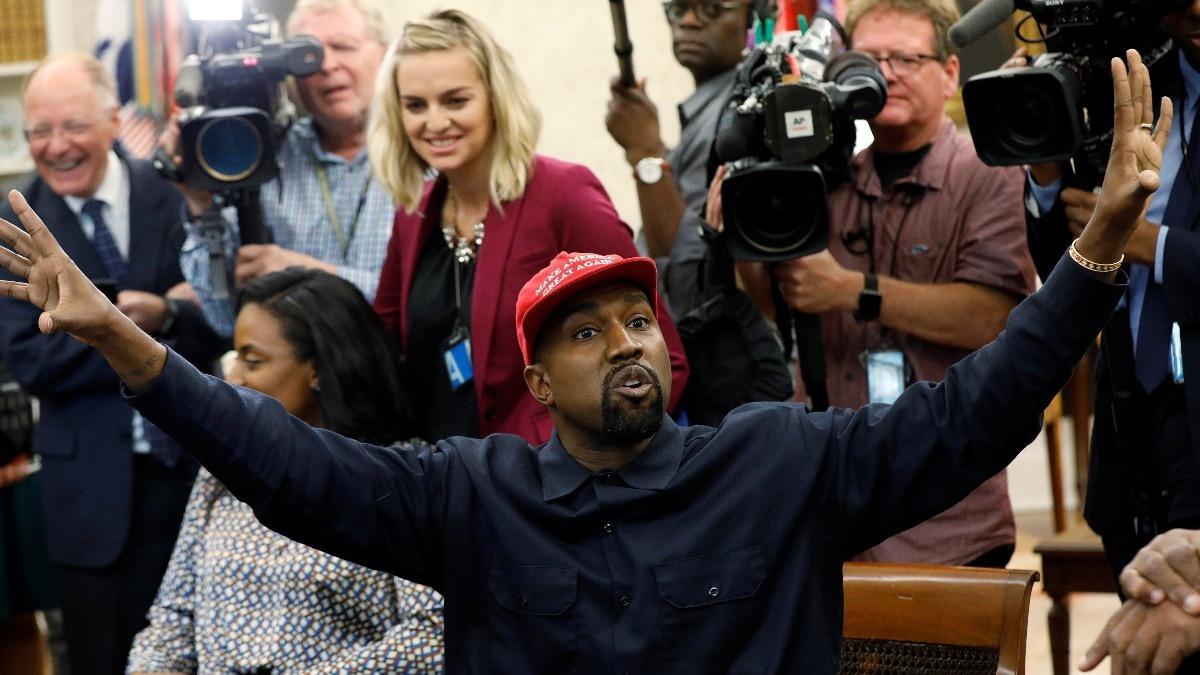 VERBATIM: Kanye's surreal White House visit