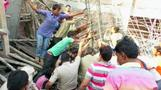 Three killed in building collapse in India
