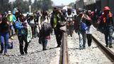 Immigrant caravan sparks Trump threat to cut aid to Honduras