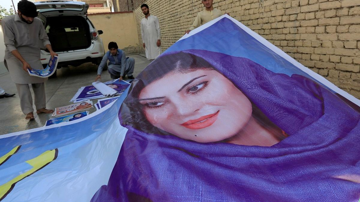 Women face 'small-scale war' in Afghan election