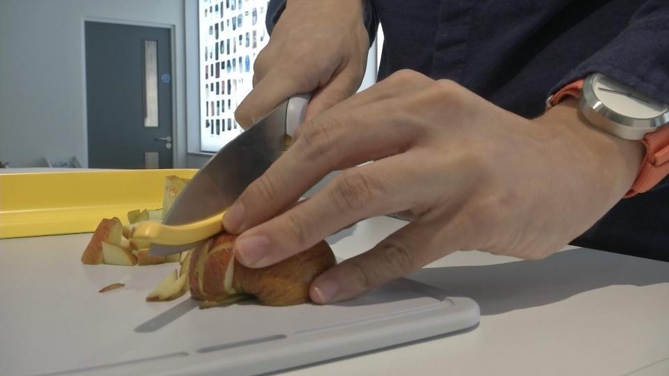 Kitchenware for the blind designer hopes to nab Dyson prize