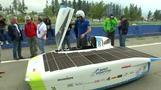 فرق دولية تستعد لسباق سيارات تعمل بالطاقة الشمسية في صحراء تشيلي