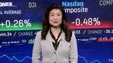 P&G好決算でダウ反発、金利上昇や貿易摩擦懸念でナスダックは3日続落(19日)
