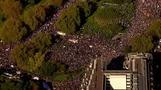 آلاف يتظاهرون في لندن للمطالبة باستفتاء على شروط مغادرة الاتحاد الأوروبي