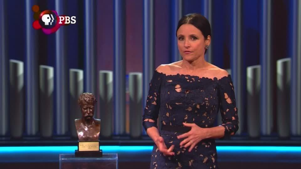 Veep star Julia-Louis Dreyfus awarded Mark Twain Prize