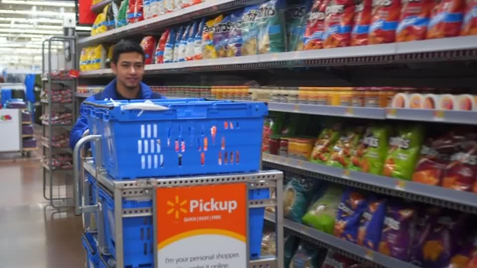E-commerce drives up Walmart's sales