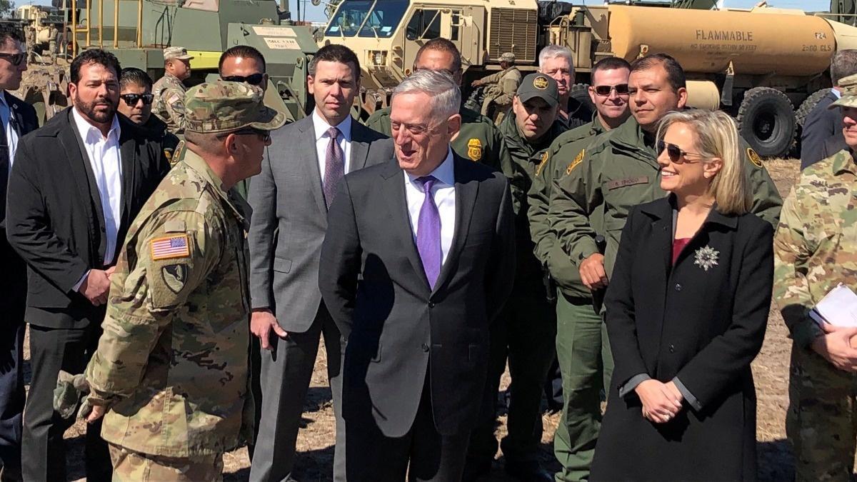 Mattis defends Mexico border deployment