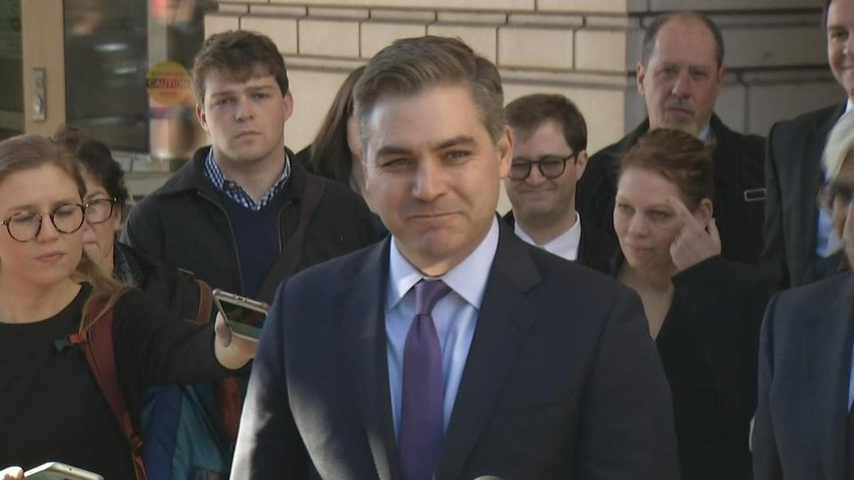 Judge restores WH press pass to CNN's Acosta