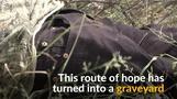 希望の旅路が墓場に、米国を目指して命を落とす移民たち(15日)