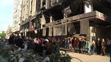 The Gaza family that escaped airstrikes - twice