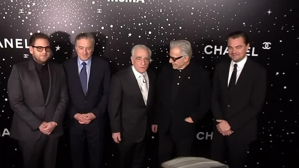 Leonardo Dicaprio and Robert De Niro pay tribute to Martin Scorsese