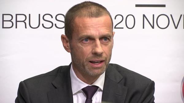 Football is not for sale, UEFA president says