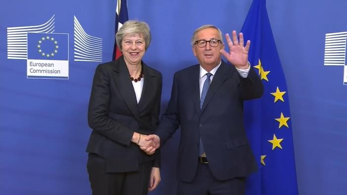Theresa May takes her deal to Brussels