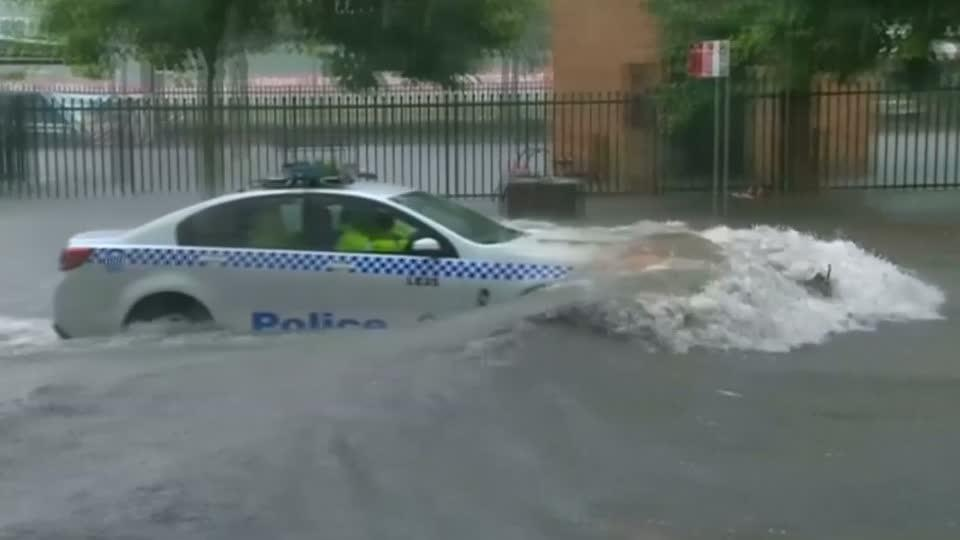 """""""Once in 100 year"""" storm lashes Australia, causes flash flooding"""