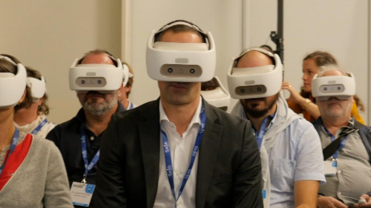 Virtual reality finds real-world use