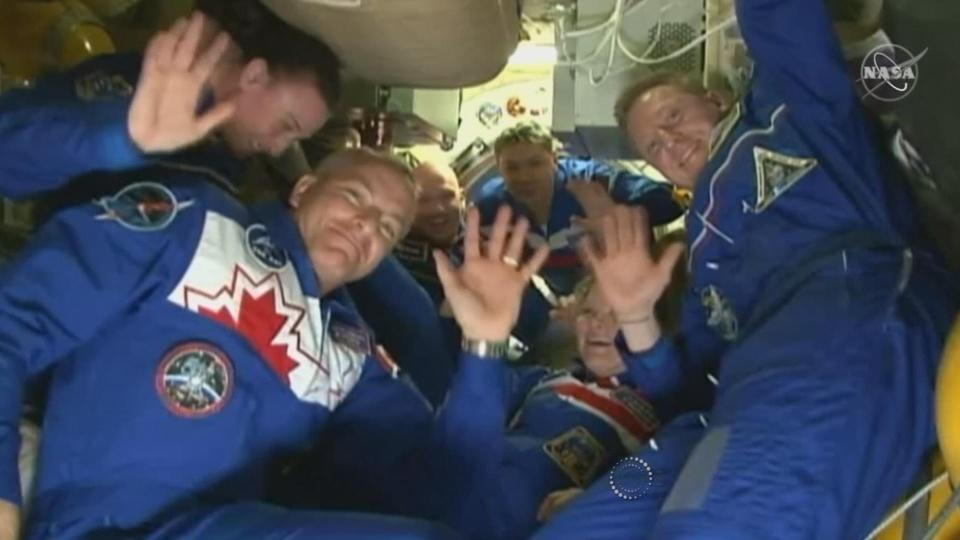 Soyuz spacecraft successfully docks at ISS