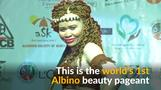 Kenya holds world's first Albino beauty pageant