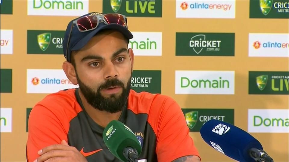 Kohli confident as India prepare to face Australia in the second test in Perth