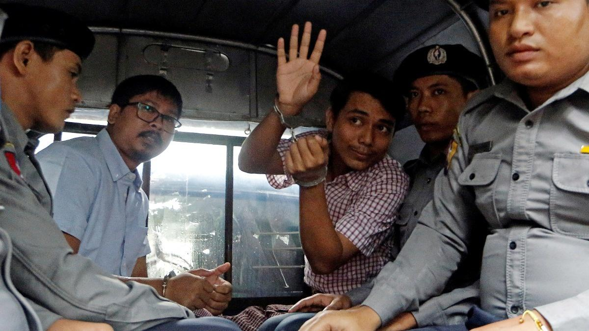 VERBATIM: Reuters calls for release of jailed reporters