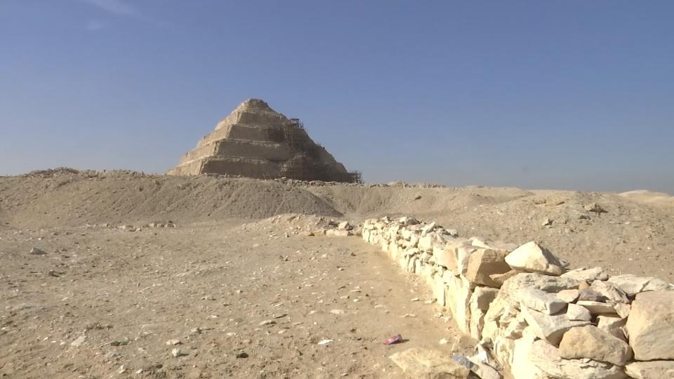 "Egypt unveils ""one of a kind"" ancient tomb, expects more finds"