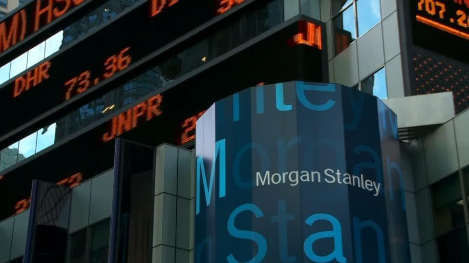 Weak bond trading hurts Morgan Stanley results
