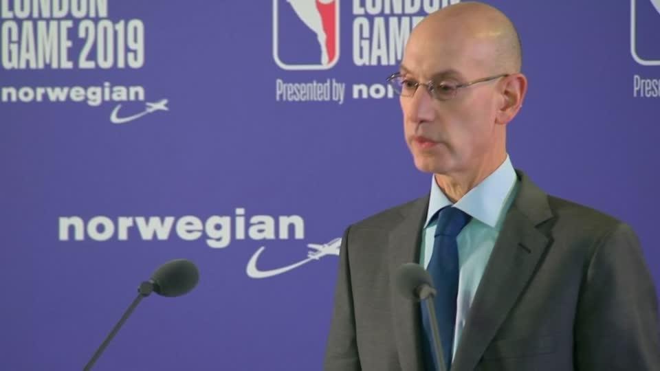 NBA chief Silver says takes threats to Kanter seriously