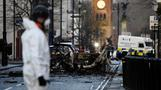 Four arrested over Northern Ireland car bomb attack