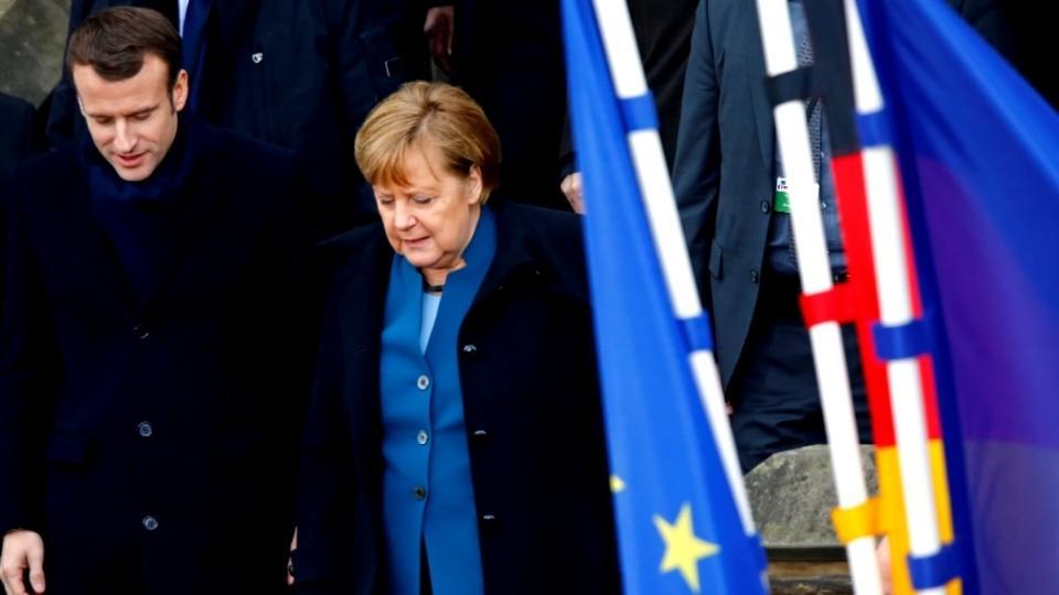 Threats to EU prompt Franco-German 'unity' treaty