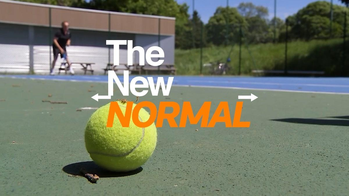 The New Normal: How to play tennis