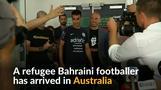 Australia welcomes refugee Bahraini footballer