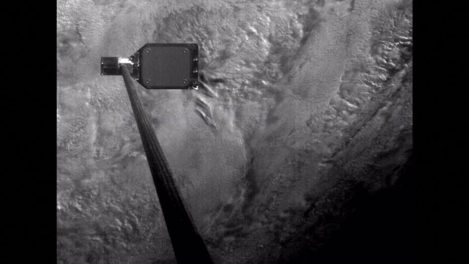 Space junk-skewering harpoon tested in space