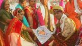 زفاف جماعي في الهند يجني 70 ألف دولار لأسر ضحايا هجوم كشمير