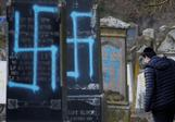 Jewish graves defaced in France ahead of marches
