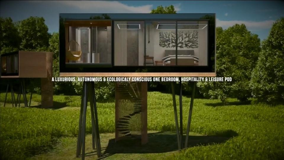 Hotel rooms on stilts help get around location planning laws