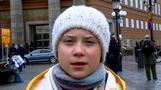 気候変動対策求め40カ国の学生がストへ、始まりは1人の少女(字幕・11日)